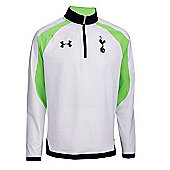 2013-14 Tottenham Half Zip Training Top (White) - White