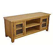 Nebraska Modern Large Oak TV Stand / Oak TV Unit
