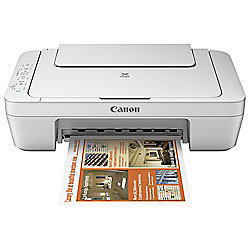 Canon PIXMA MG2950, Wireless All-in-One Inkjet Colour Printer, A4, WiFi Enabled - White