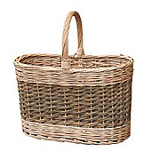 Wicker Valley Flash Basket