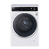 LG F14U1TBS2 Washing Machine, 8kg Load, 1400rpm A+++ Energy Rated, White