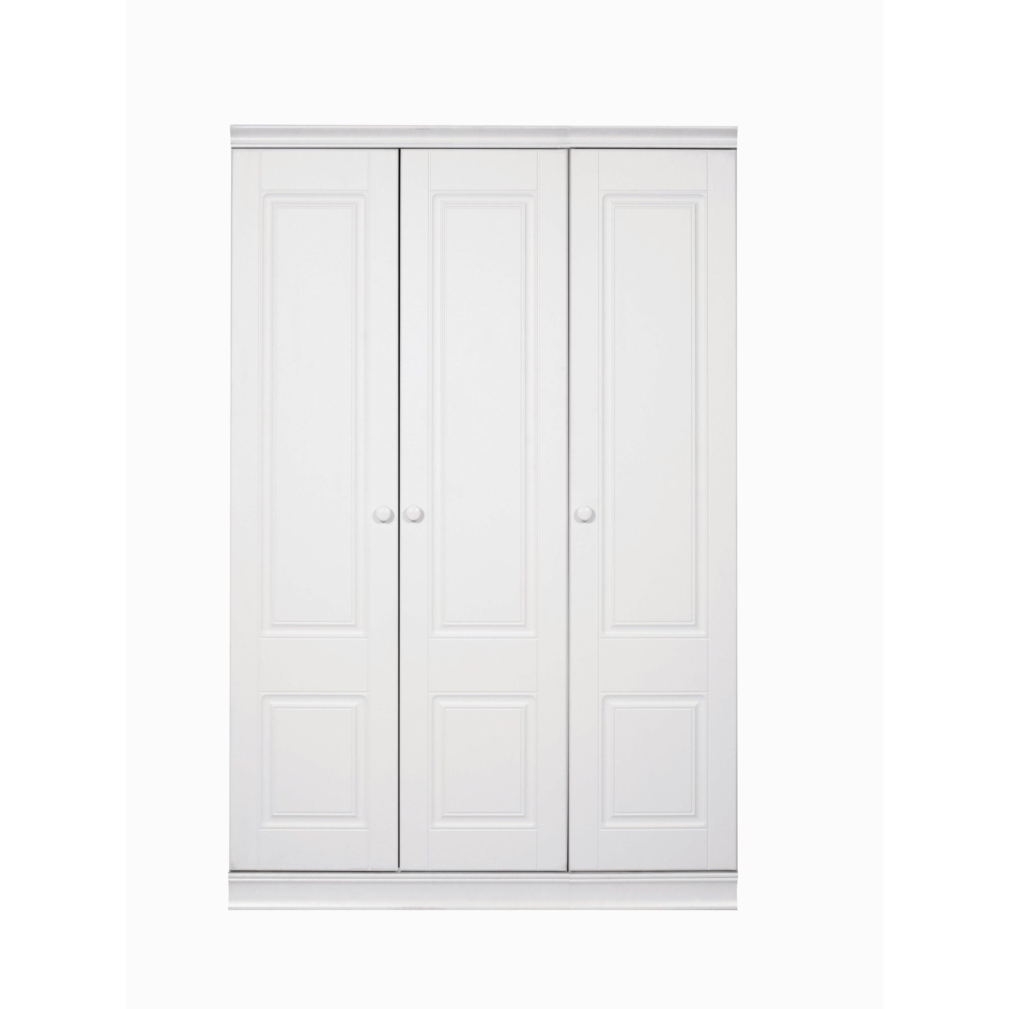 Caxton Henley 3 Door Short Height Wardrobe at Tesco Direct