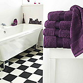 Luxury 600gsm Supreme 100% Egyptian Cotton Towel - Purple