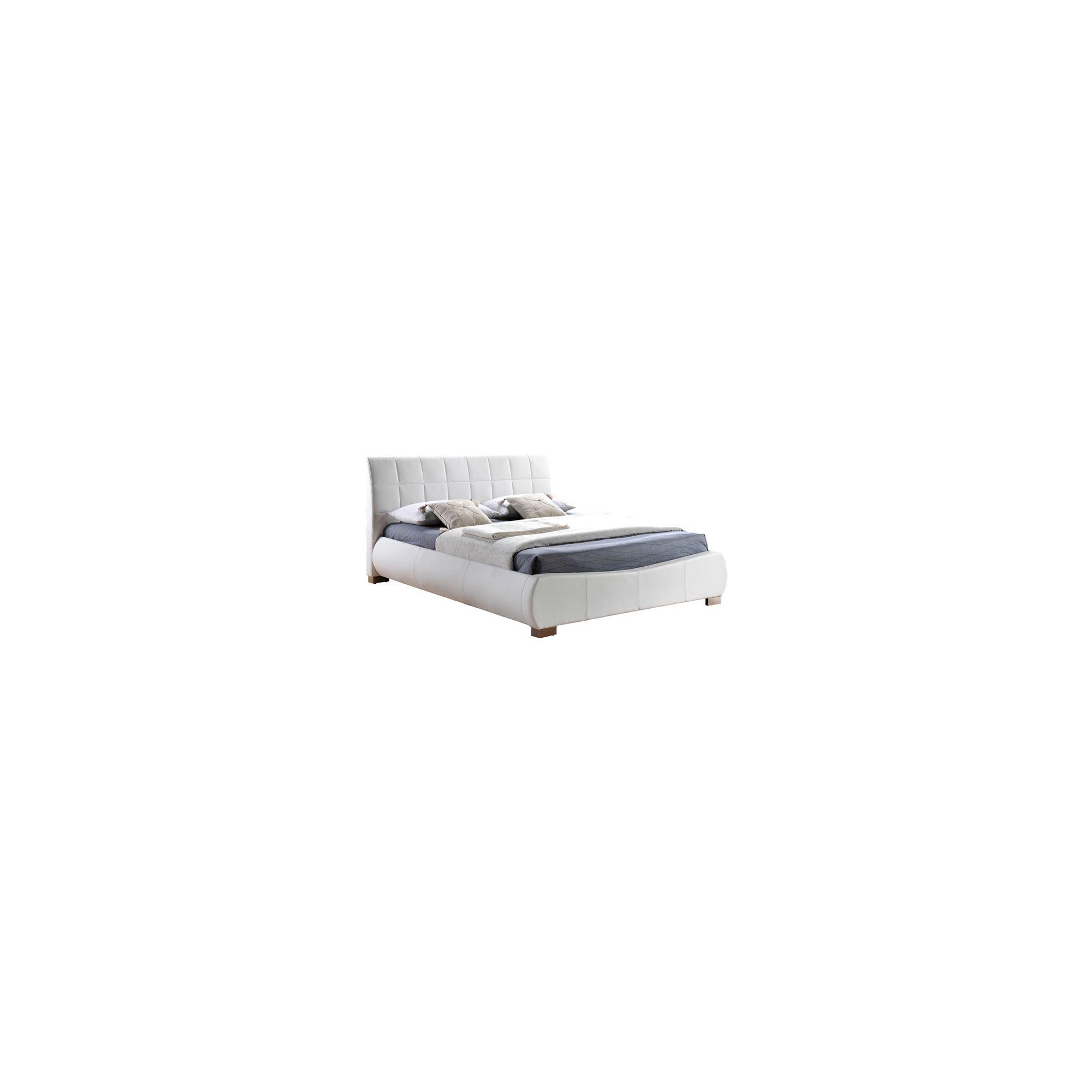 Limelight Dorado Bed Frame - Double - White at Tesco Direct