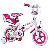 "Fairy 12"" Kids' Bike with Stabilisers"