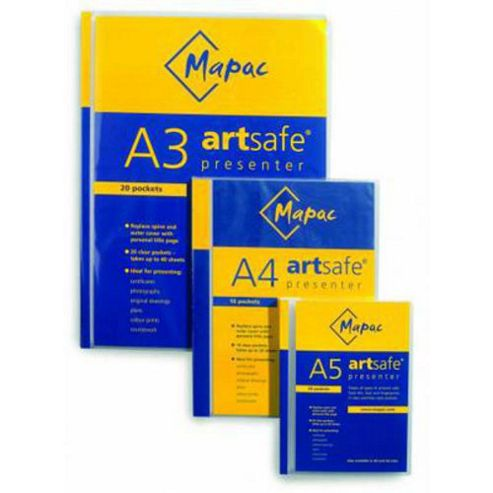 Mapac A3 Artsafe 20 Pocket