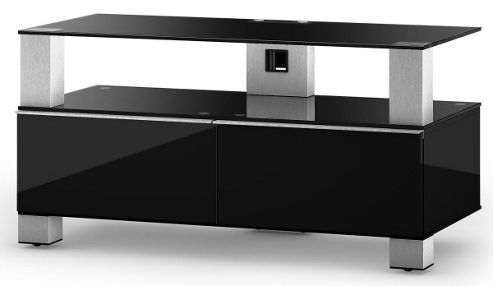 Sonorous Mood TV Cabinet in Black for up to 42 inch TVs