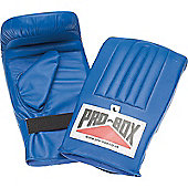Pro Box Pre Shaped Punch Bag Mitts Blue Collection - Blue