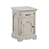 Thorndon Beverley 1 Drawer Bedside Table - Left Side