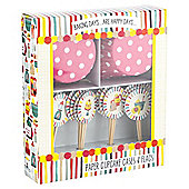 Baking Days Cupcake Cases & Flags 24pk