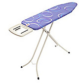Brabantia Ironing Board 124x38cm  Solid Steam Rest, Moving Circles
