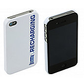 iPhone 4 and iPhone 4s case Recharging White