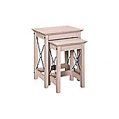 Home Essence Pembroke 2 Piece Nest of Tables