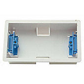 SMJ Electrical 2 Gang Dry Partition Wall Box