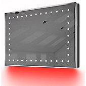Ambient Ultra-Slim LED Bathroom Mirror With Demister Pad & Sensor K164R