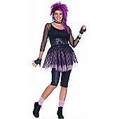 Adult Funky Pop Star 80S Costume