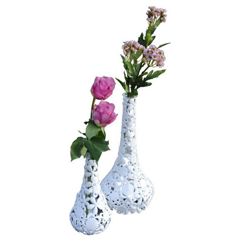 Truly Minka Metal Lace Dani Vase - Medium