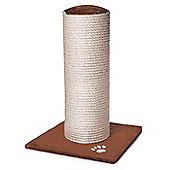 Acticat Fat Boy Scratch Post Chocolate 70Cm