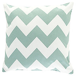 Chevron Cushion 43 x 43cm, Eau De Nil