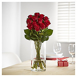 Be My Valentine Dozen Red Roses