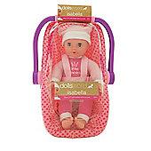 Dolls World Isabella Doll And Car Seat