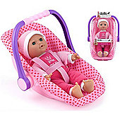 Dolls World Isabella Doll And Car Seat