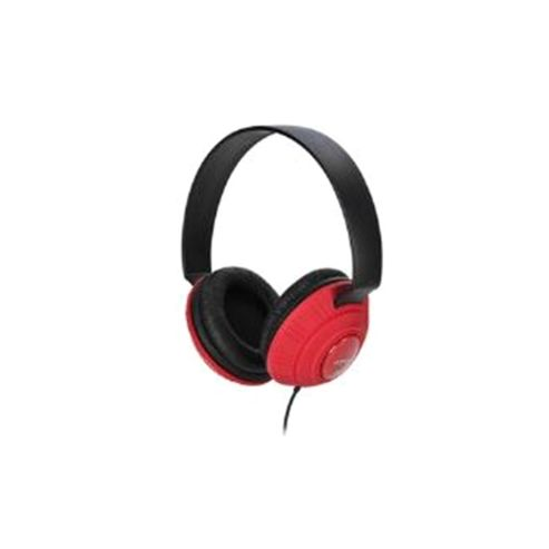 Imation Corp TDK MP100 DJ Style Headphones Red