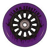 Slamm Nylon Core Wheel + Bearings Black / Purple