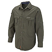 Craghoppers Mens Nosilife Insect Repellent Long Sleeve Shirt - Green
