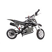 Pocket Rocket Scrambler 49cc Black & White
