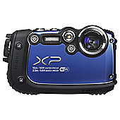 "Fuji XP200 Digital Camera, Blue, 16MP, 5x Optical Zoom, Waterproof, 3"" LCD Screen, Wi-Fi"