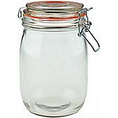 Argon Tableware Preserving / Biscuit Glass Storage Jar - 1000ml