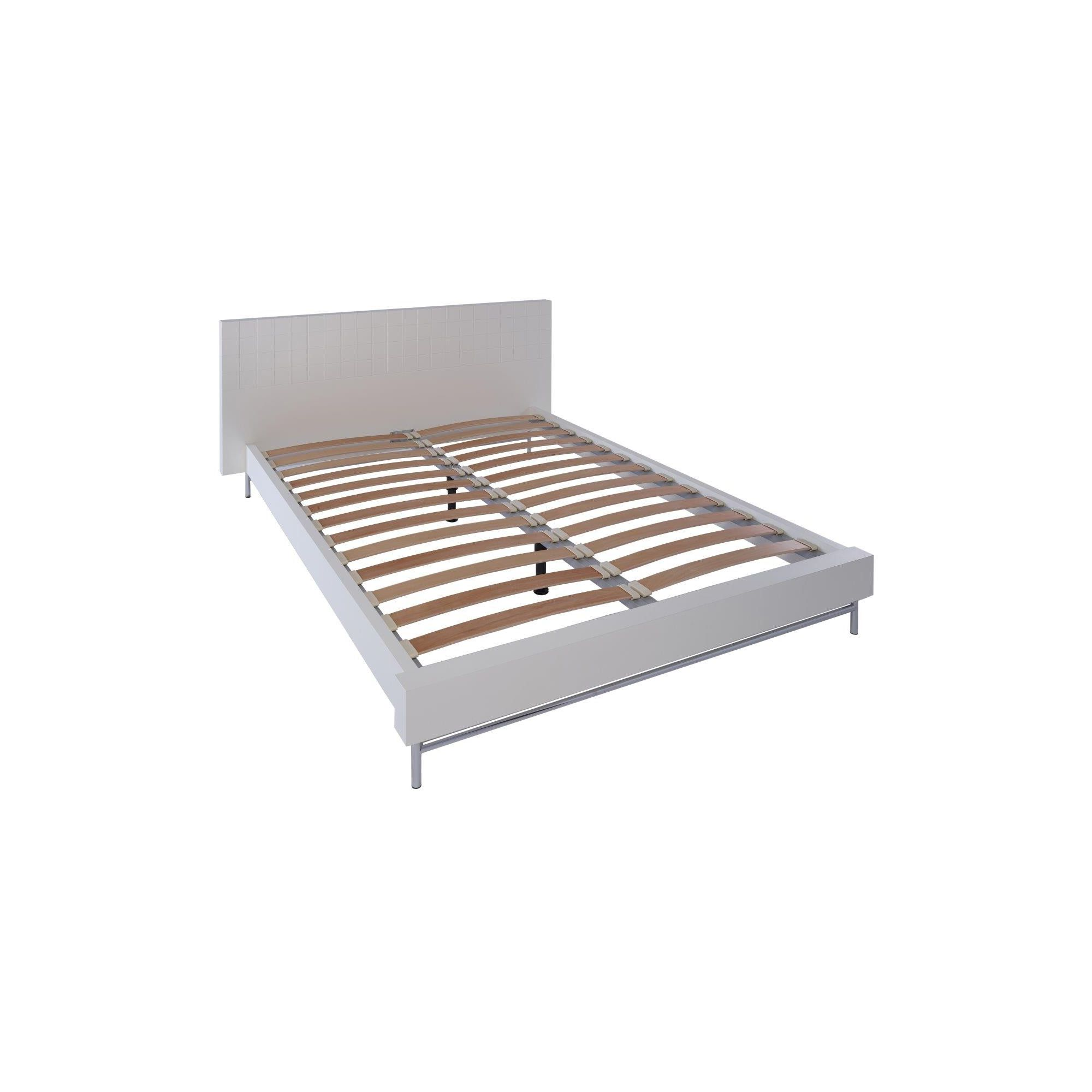Gillmore Space Barcelona Bed - King - Walnut at Tesco Direct