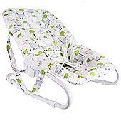 BabyDan Bouncing Chair Tarok Design in Lime