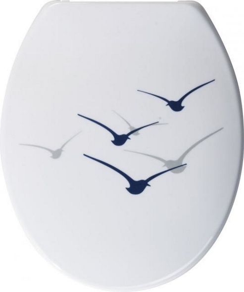 Sanwood Mowe Toilet Seat - White
