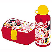 Minnie Mouse Lunch Box and Flask