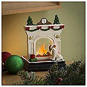 Tesco Fireplace Scene Home Decoration