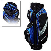 Prosimmon 14 Way Divider Golf Trolley Bag Blue