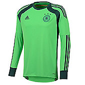 2014-15 Germany Home World Cup Goalkeeper Shirt - Green