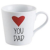 Tesco I Love Dad Mug Single
