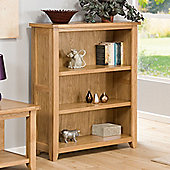 Stirling Oak Medium Bookcase