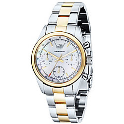LTD Vintage Ladies Multicoloured Stainless Steel Chronograph Watch 340501