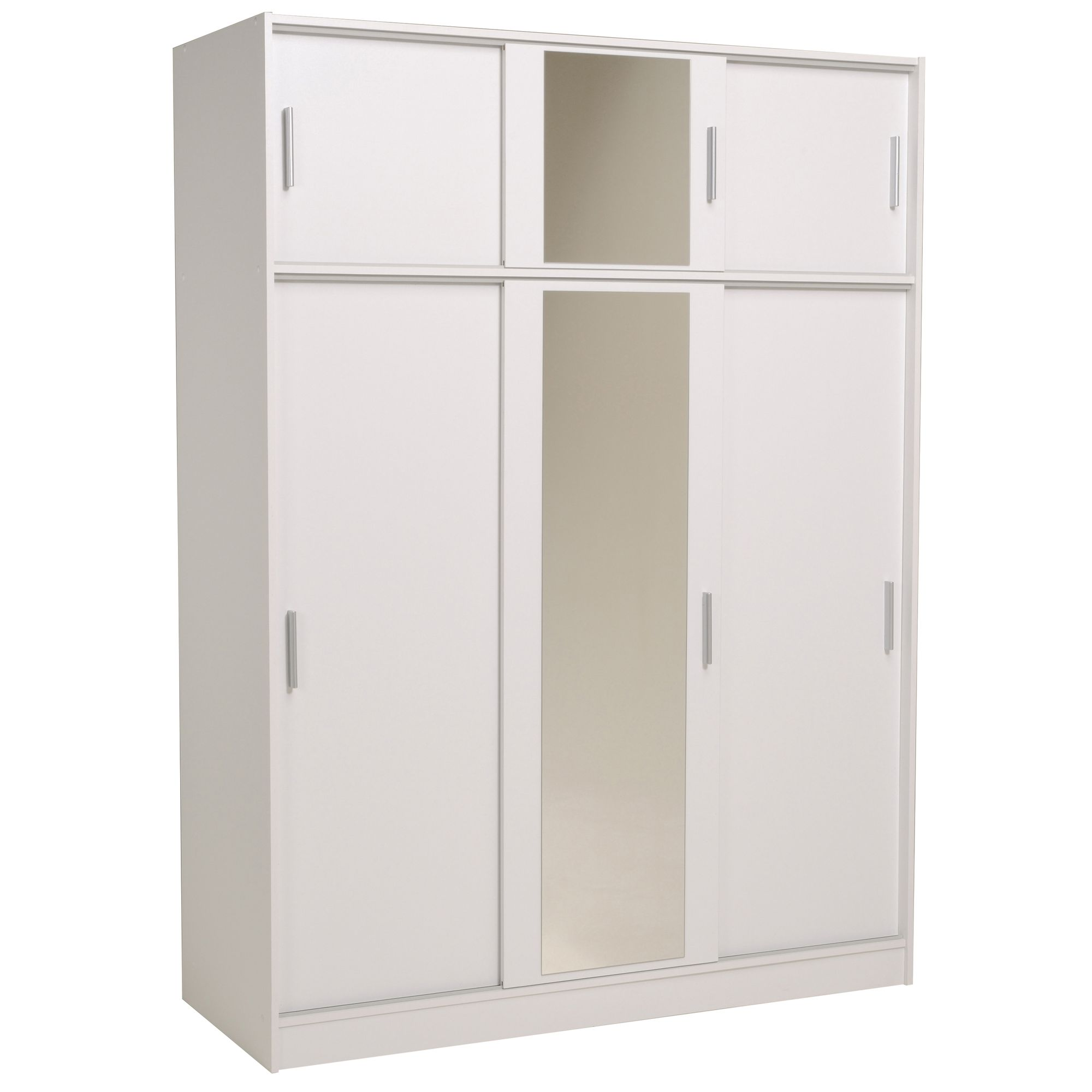 Parisot Alicia 149 cm Wardrobe - Megeve White at Tescos Direct