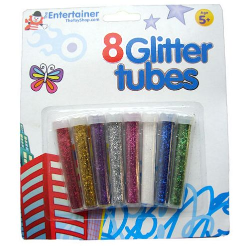 The Entertainer 8 Glitter Tubes