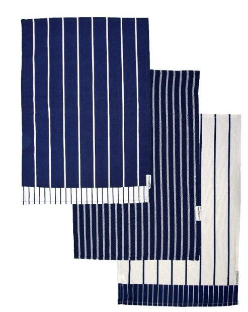 Sabichi Boucherie Tea Towels, 3 Pack