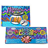 Official Rainbow Loom 2.0 Starter Kit & Rainbow Loom Monster Tail Travel Kit