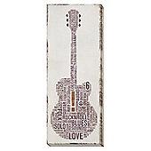 Big Band Canvas - Acoustic Guitar
