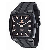 Marea Mens Black Steel Fashion Watch - 35226-2