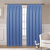 Ripon Thermal Blackout Curtains 66 x 54 - Blue