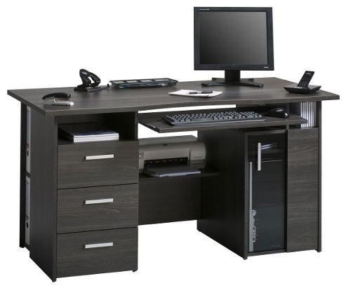 Maja Capital Anthracite Oak Computer Desk